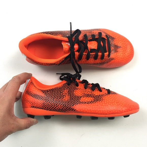 adidas Ace 17.4 In Men's Indoor Soccer Shoes (10.5, Solar OrangeBlackSolar Red)